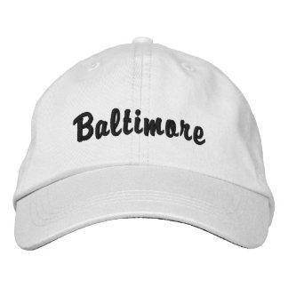 Casquette Brodée Baltimore
