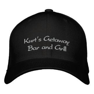 Casquette Brodée Bar et grill de la fuite de Kurt