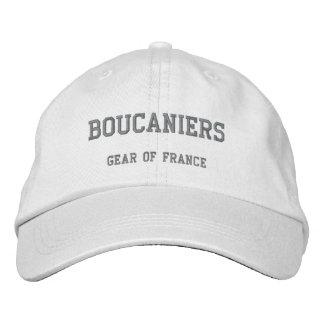 Casquette Brodée BOUCANIERS, vitesse de la France