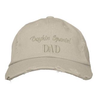 Casquette Brodée Cadeaux de papa d'épagneul de Boykin