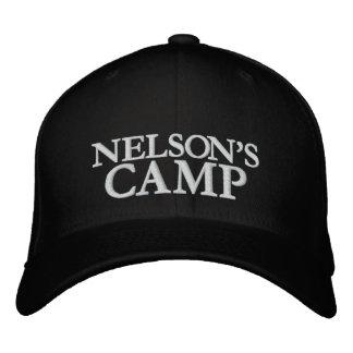 CASQUETTE BRODÉE CAMP DE NELSONS