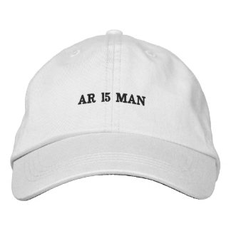 Casquette Brodée Chapeau blanc d'habillement