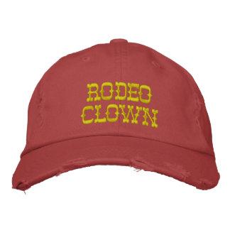 Casquette Brodée Clown de rodéo