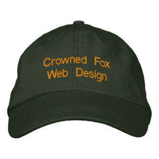 Casquette Brodée Conception web couronnée      de Fox