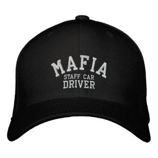 Casquette Brodée Conducteur de voiture de personnel de Mafia