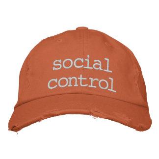 Casquette Brodée contrôle social
