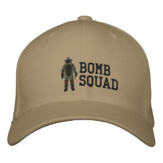 Casquette Brodée Costume de bombe