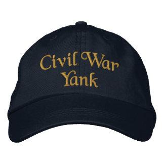 Casquette Brodée Coup sec de guerre civile
