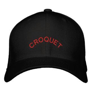 CASQUETTE BRODÉE CROQUET
