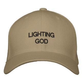 Casquette Brodée Dieu d'éclairage