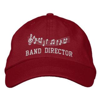 Casquette Brodée Directeur Embroidered Music Hat de bande