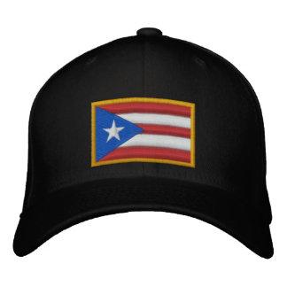 Casquette Brodée Drapeau de Porto Rico
