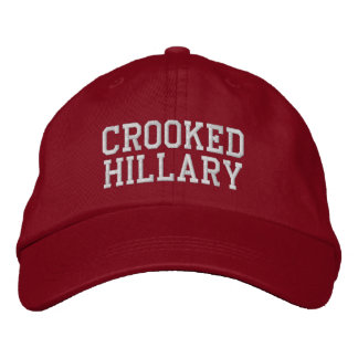 Casquette Brodée Élections tordues 2016 de Hillary