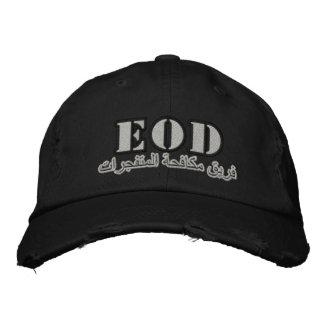 Casquette Brodée EOD (équipe de combat explosive)