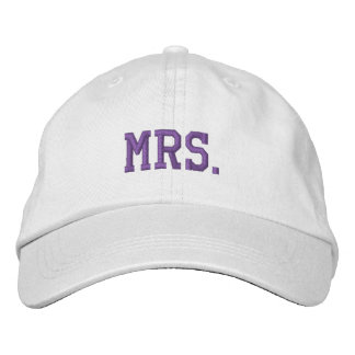 Casquette Brodée Épousez nouvellement Mme Embroidered Ball Cap