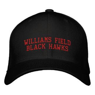 Casquette Brodée Faucons de noir de champ de Williams