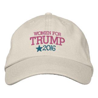 Casquette Brodée Femmes pour Donald Trump - président 2016