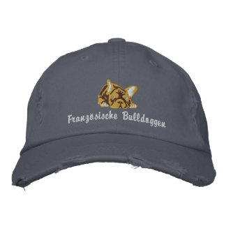 Casquette Brodée French Bulldogs