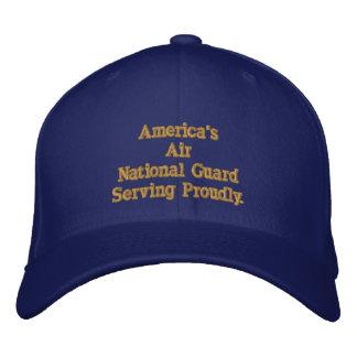 Casquette Brodée Garde nationale d'air de l'Amérique