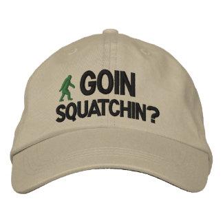 Casquette Brodée Goin Squatchin ?