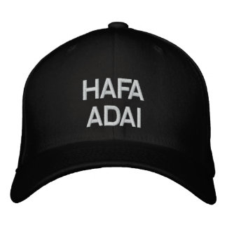 CASQUETTE BRODÉE HAFA ADAI