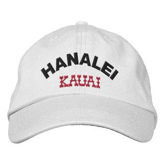 Casquette Brodée Hanalei Kauai Hawaï