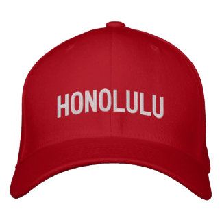 Casquette Brodée Honolulu