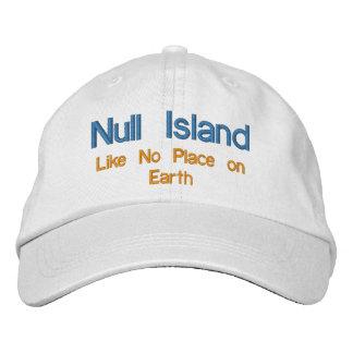 Casquette Brodée Île nulle