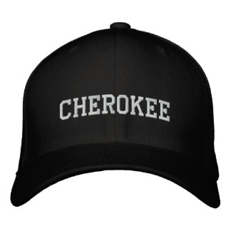 Casquette Brodée Indien cherokee