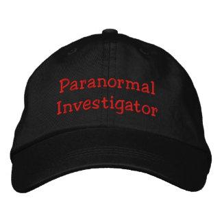 Casquette Brodée Investigateur paranormal