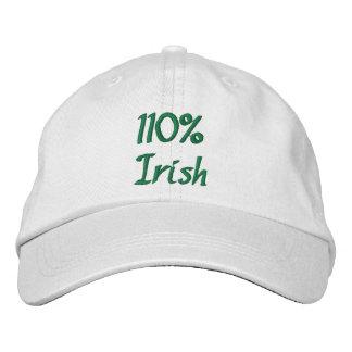 Casquette Brodée Irlandais de 110%