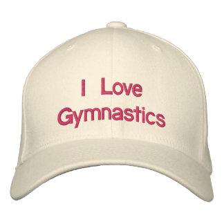 Casquette Brodée J'aime la gymnastique