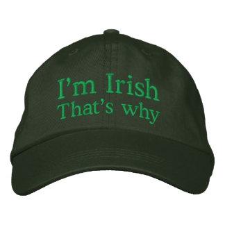 Casquette Brodée Je suis irlandais
