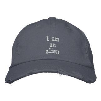 Casquette Brodée Je suis un alien