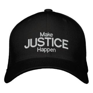 CASQUETTE BRODÉE JUSTICE