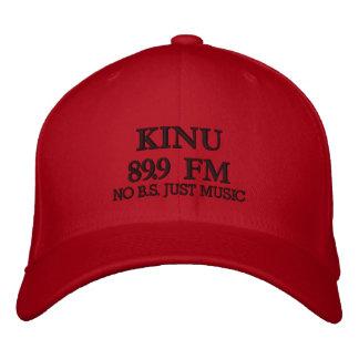 CASQUETTE BRODÉE KINU 89,9 FM, AUCUN B.S. JUST MUSIC