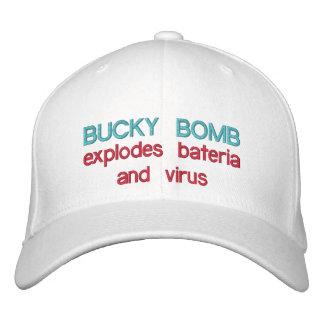 Casquette Brodée La BOMBE BUCKY éclate des bactéries et le BB de
