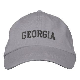 Casquette Brodée La Géorgie a brodé le gris réglable de cool de