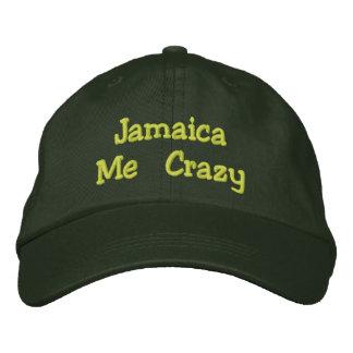 Casquette Brodée La Jamaïque je fou
