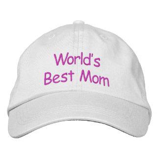 Casquette Brodée La meilleure maman du monde -