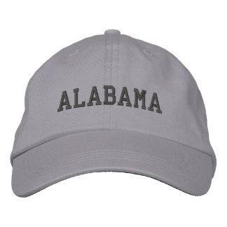 Casquette Brodée L'Alabama a brodé le gris réglable de cool de