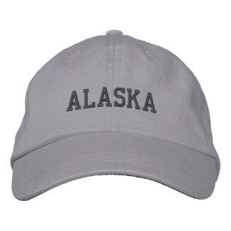 Casquette Brodée L'Alaska a brodé le gris réglable de cool de