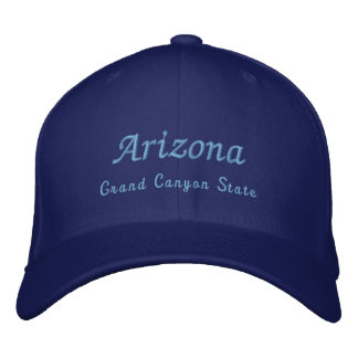 Casquette Brodée L'Arizona, état de canyon grand