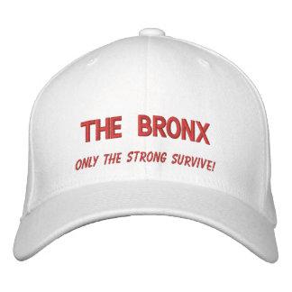 Casquette Brodée Le Bronx, seulement le fort survivent !