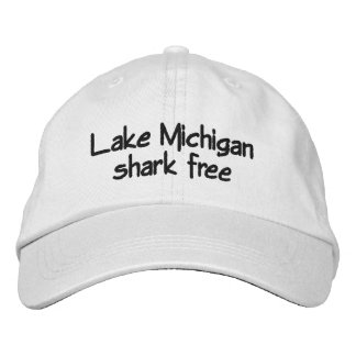 Casquette Brodée Le lac Michigan - le requin libèrent