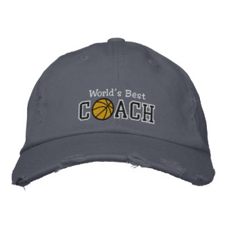 Casquette Brodée Le meilleur entraîneur de football du monde