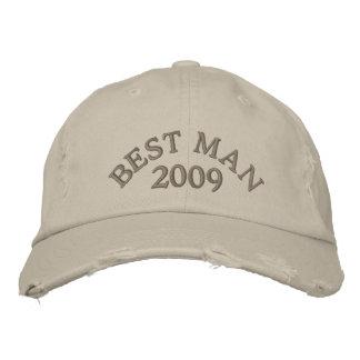 Casquette Brodée Le meilleur homme 2009
