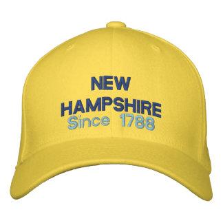 Casquette Brodée Le New Hampshire depuis 1788