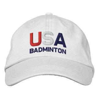Casquette Brodée Les Jeux Olympiques de badminton des Etats-Unis