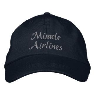 Casquette Brodée Lignes aériennes de miracle